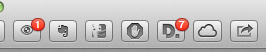 Toolsbar with Extensions