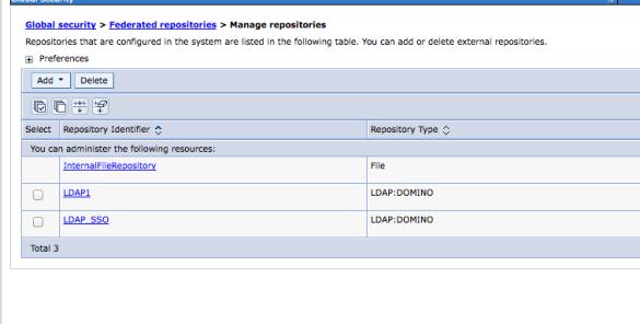LDAP1 is our internal directory LDAP SSO the external / public facing