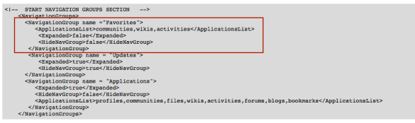 The ApplicationList node entry before the Expanded node entry is invalid XML structure